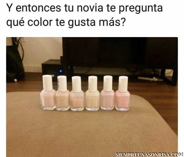 A ver cual eliges