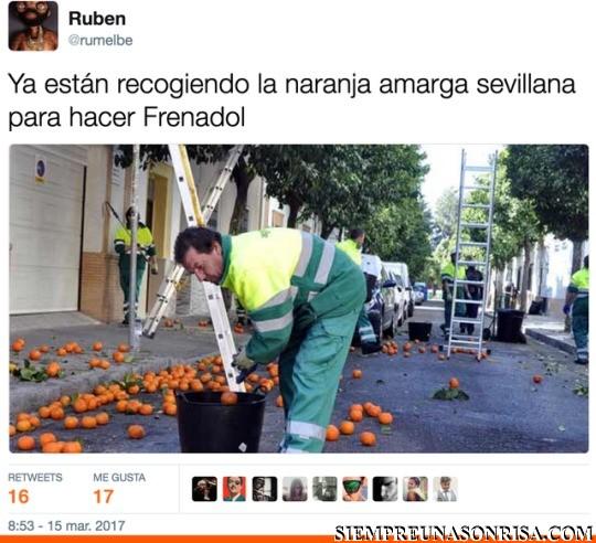 Las Naranjas del frenadol