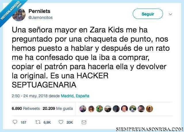 ndice 9 - Cuando tu abuela de 70 años es una hacker del Zara