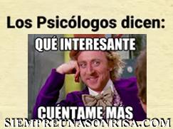 Que dicen los psicólogos de las personas ?