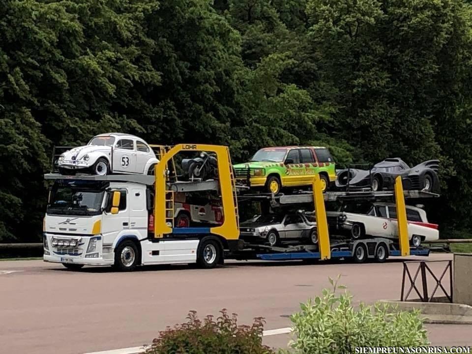 Si me cruzo con ese camión por mis cojones que me lo llevo.