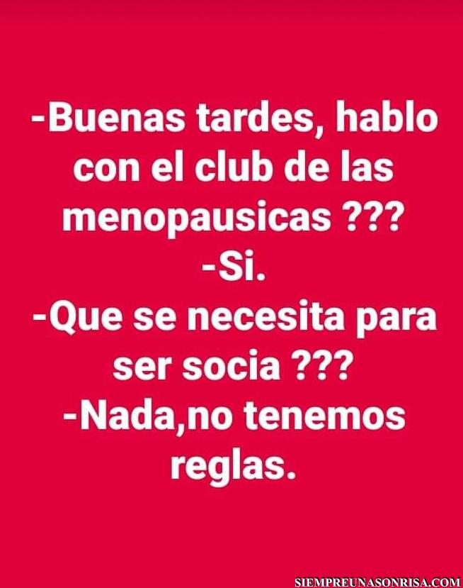 El club de las menopáusicas
