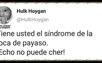 sindrome boca payaso,tweetstuits,chistes,fotos