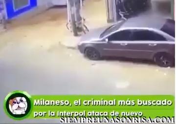 Milaneso, el criminal más buscado