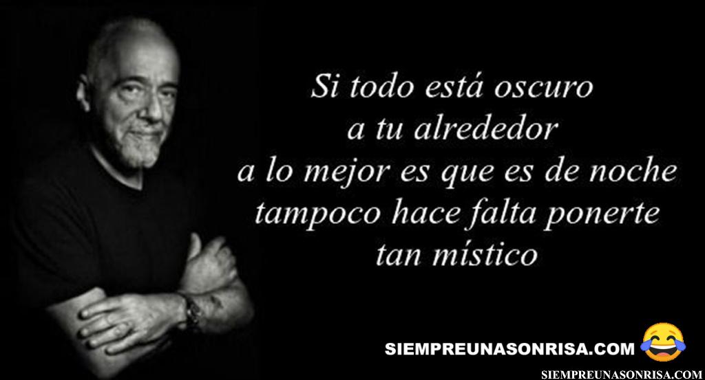 Frases graciosas Paulo Coelho