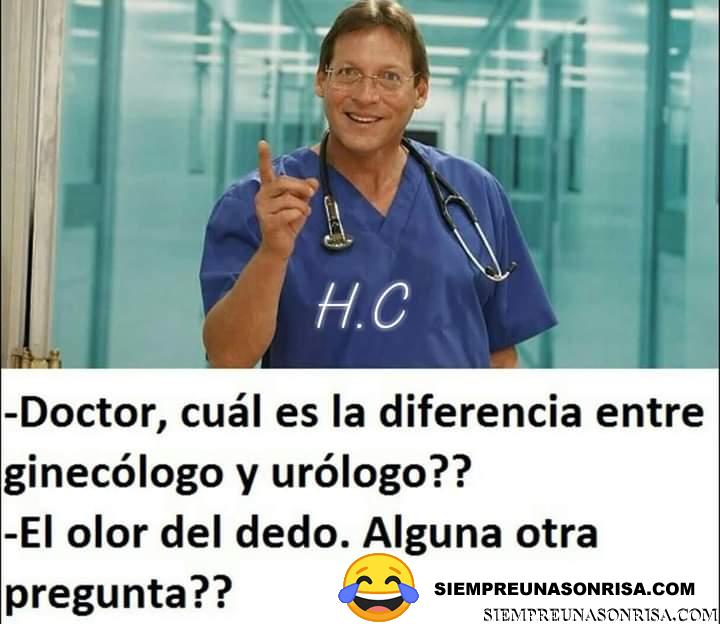 Cual es la diferencia entre Ginecólogo y Urólogo ?