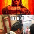 HellBoy Vs Gel Boy,diferencias,fotos,humor,risas