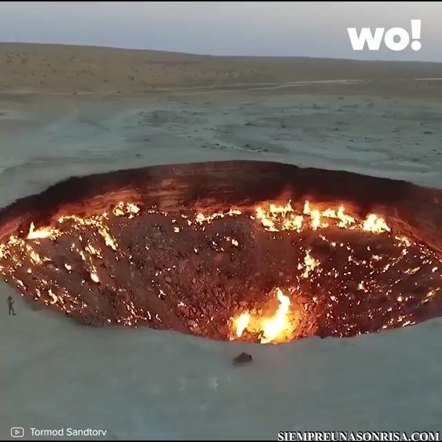 Videos Curiosos, El cráter de Darvaza miniatura