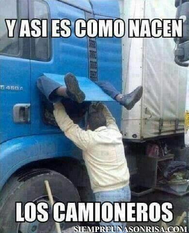 como nacen los camioneros