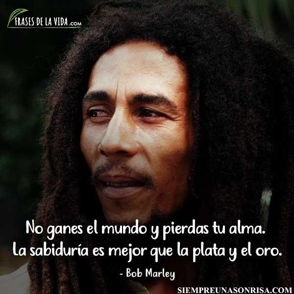 frases de Bob Marley sobre la vida