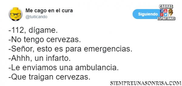 imagenes de tuits, graciosos, emergencias,112