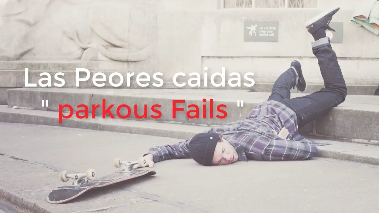 parkour, videos fails, caidas,risas,videosgolpes,