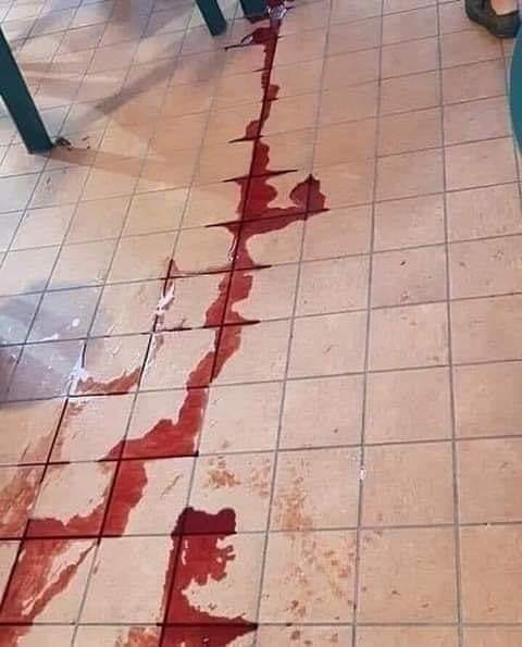 Se me cayó la mejor botella de vino tinto