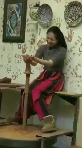 Cuando quieres hacer un jarrón miniatura