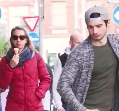 videos bromas en la calle