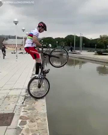 Puto amo mundial en bicicleta