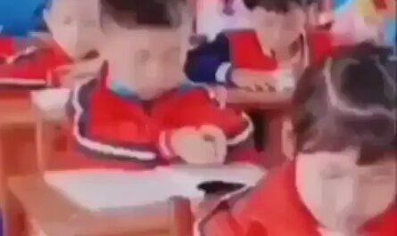 Este niño es el futuro de la humanidad