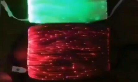 Mascarillas navideñas, navidad, coronavirus, mascarillas con luces