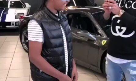 Qué hizo para que le regalaran este coche Leo sus opiniones
