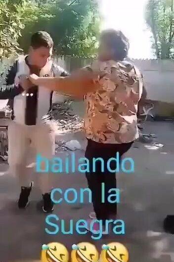 Bailando con la suegra y…..