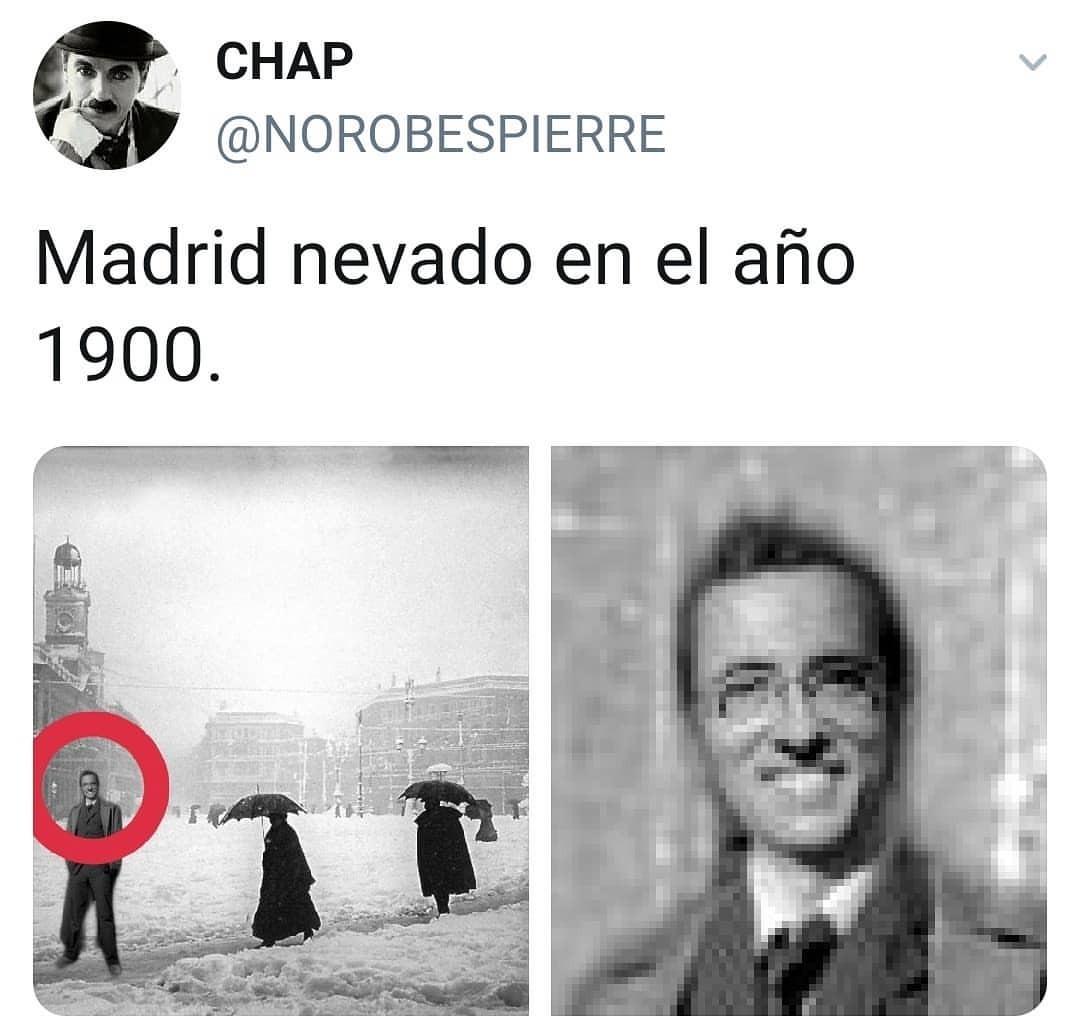 El memé gracioso de Jordi Hurtado con la nevada en Madrid