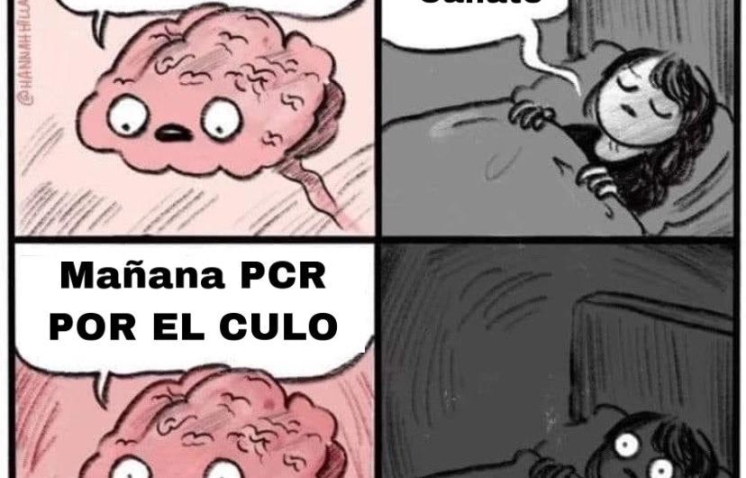 Tu Cerebro: Mañana toca PCR….