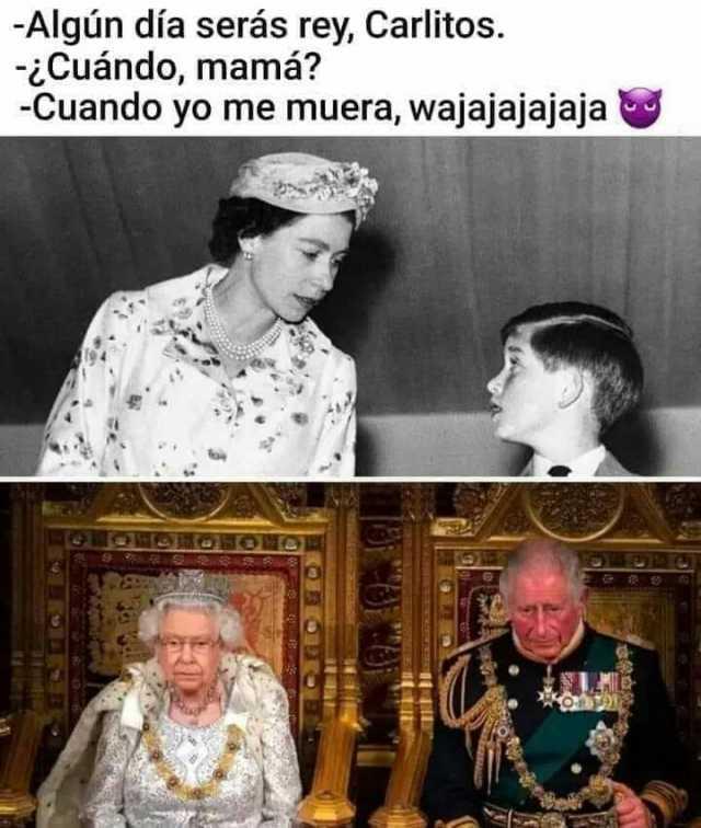 fotos rey humor, carlos de inglaterra, memes graciosos, memes divertidos, monarquia