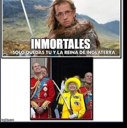 Inmortales. Jordi Hurtado VS Reina Isabel II de inglaterra